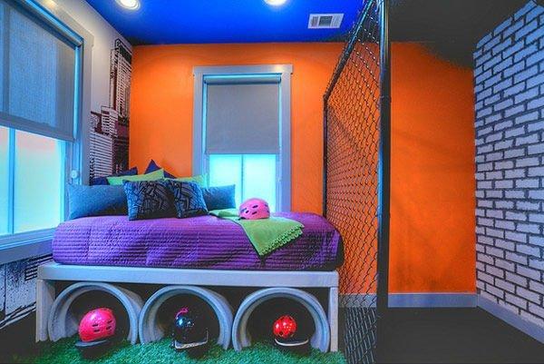 интерьер детской комнаты для мальчика подростка