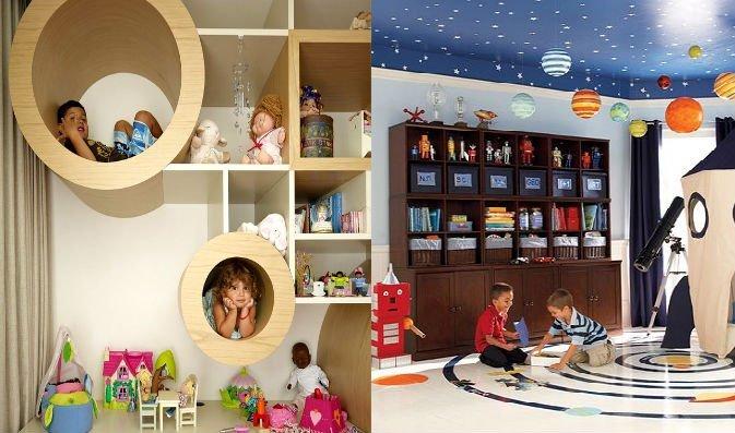 интерьер детской комнаты для детей