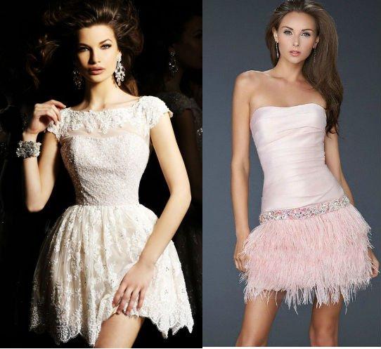 Выпускные платья фото