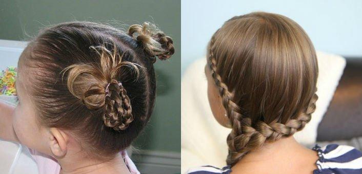 Как сделать из длинных волос прическу как у мальчика