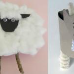 Поделки  к новому году 2015 — козочки (овечки), фото