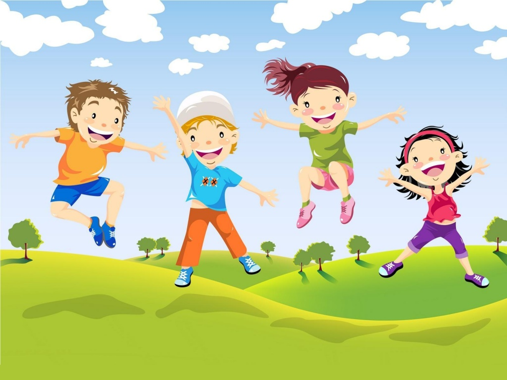 Картинки день здорового ребенка, открытка