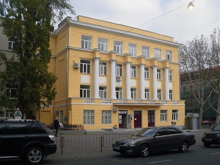 здание школы