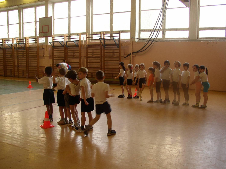 Фото детей в спортивном зале