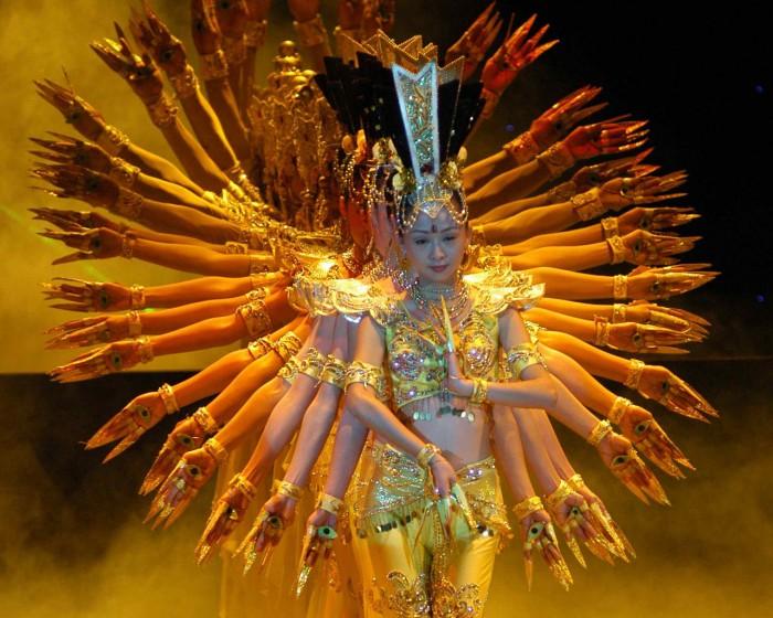 Танец рук Тайланд