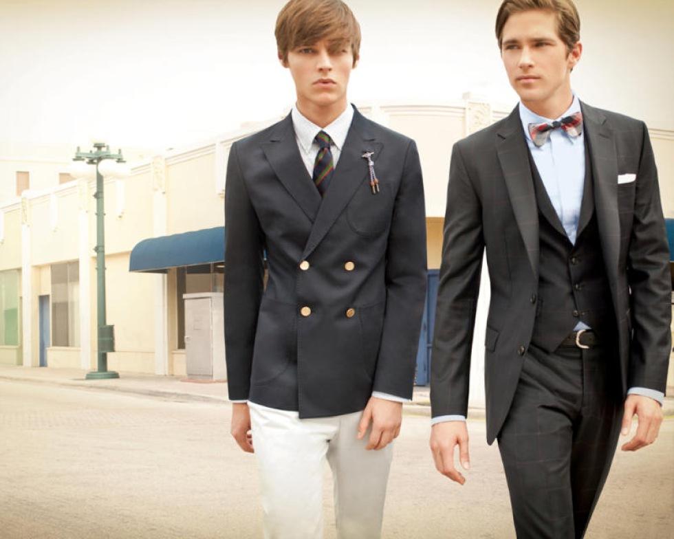 10051b442fe Стильный костюм на выпускной для парней