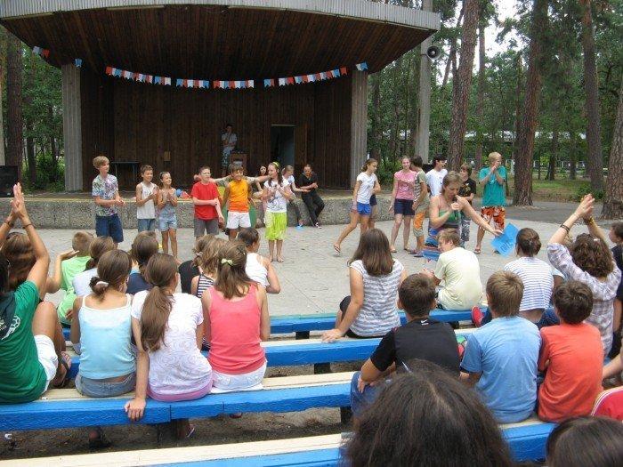 Мероприятие в лагере
