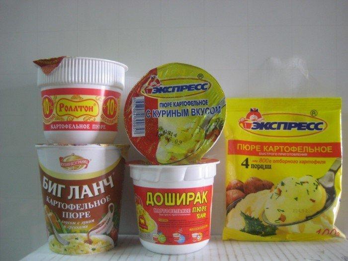 Еда быстрого приготовления