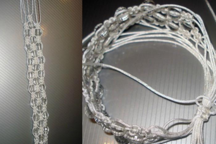 Процесс изготовления крепления, благодаря которому можно будет регулировать размер шамбалы