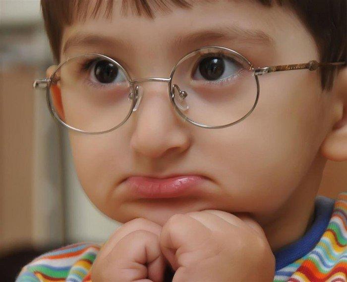 Расстроенный ребёнок