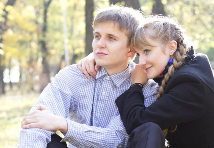 Парень и девушка вместе