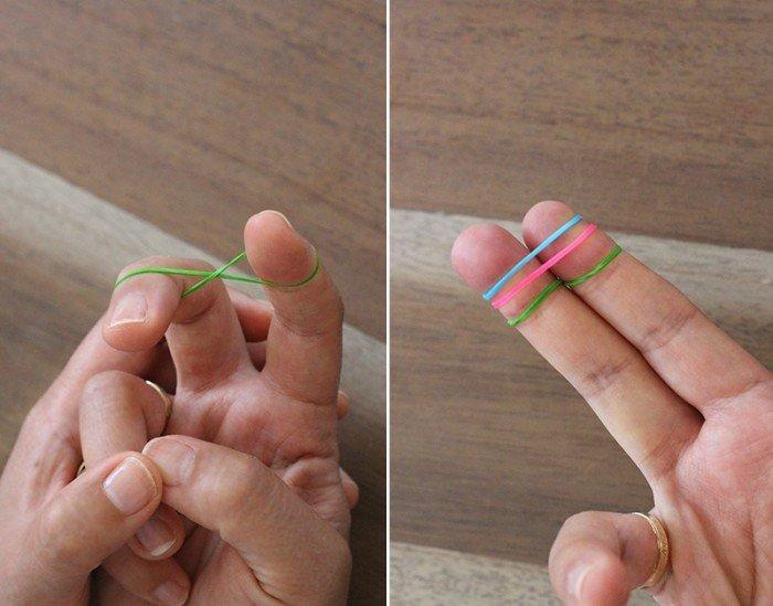 Браслет на пальцах