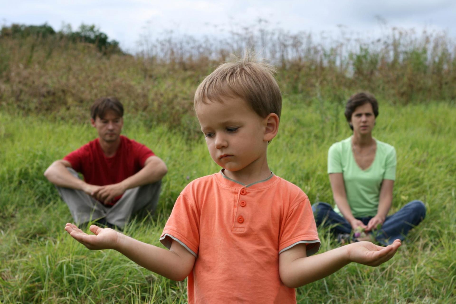 Ребёнок выбирает маму или папу
