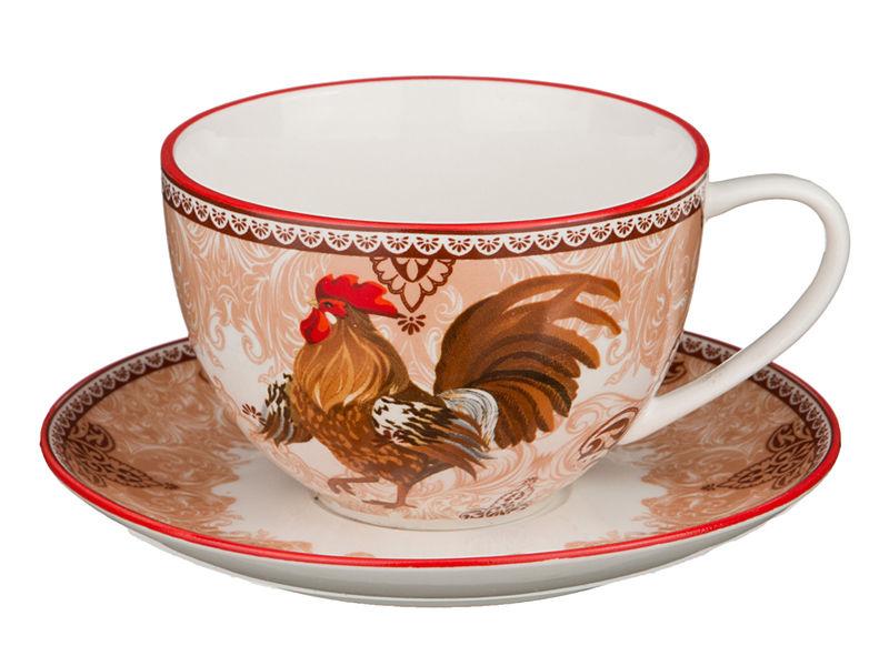 Чайный комплект с петухом
