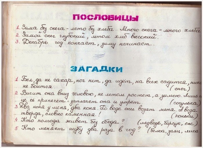 бланк дневник наблюдения за погодой для школьников