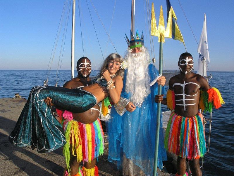 Сценарий праздника «День Нептуна»