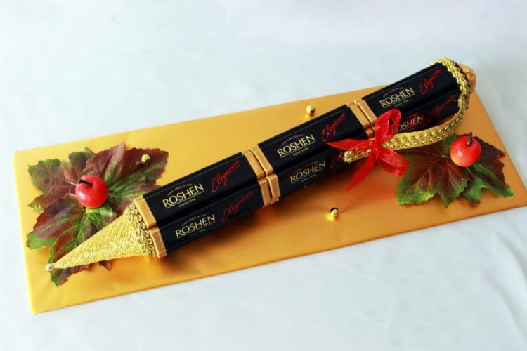 Вручение подарков учителям в Артемовске,Залегощи