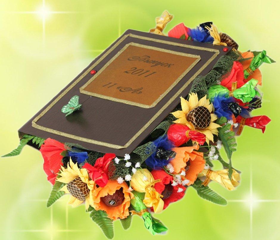 Букет цветы учителей на выпускной, необычный букет из бусин мк