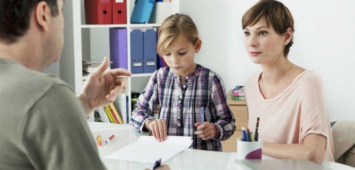 Ребёнок спсихологом и родителем