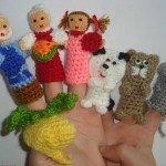 Пальчиковые куклыдля сказки Репка