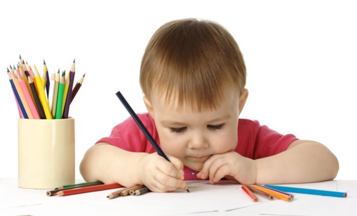 Рисующий мальчик