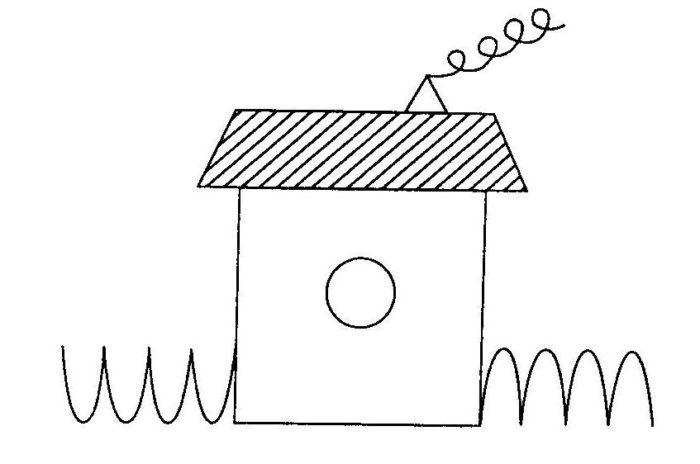 Образец домика для испытуемого