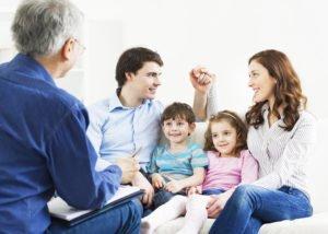 Семья у психолога