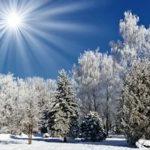 Ясный морозный день