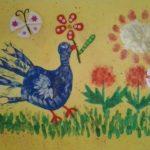 Рисуем птичку