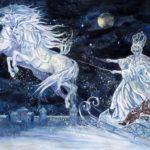 Королева на снежных конях