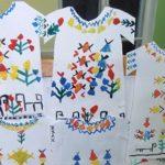 Чувашский узор на рубашке