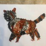 Этап 4 рисования кота
