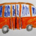 Оранжевый автобус