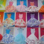 Платья с юбками из салфеток