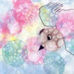 Птичка из мыльных пузырей