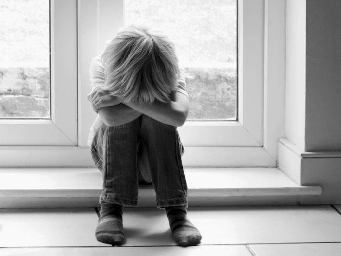 Ребёнок в состоянии фрустрации
