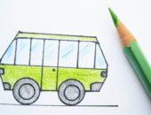 рисунок автобуса