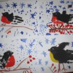 Снегирёк и синичка — наши любимые птички