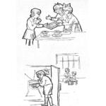 Стимульный материал к методике «Сюжетные картинки» Р. Р. Калининой