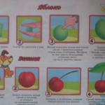 Яблоко, вишня
