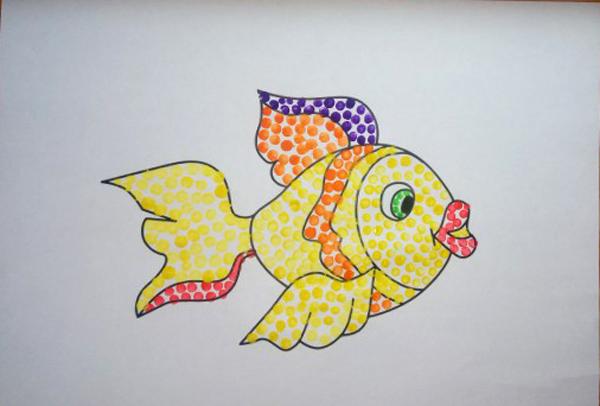 Рисунок карандашами на тему сказка
