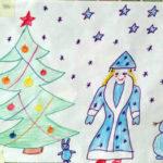 Иллюстрация к зимним сказкам