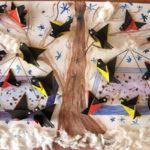 Коллаж в технике оригами