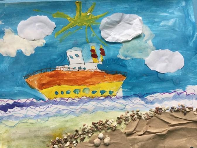 Корабли уходят в море