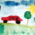 Машина и светофор