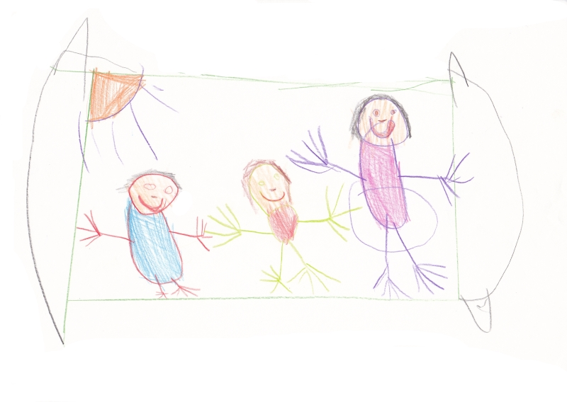 Рисование моя семья 2 я младшая группа
