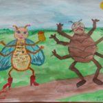 Муха-Цокотуха — позолоченное брюхо