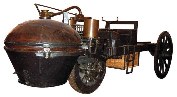 Первый паровой автомобиль