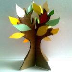 Поделка по теме «Деревья»