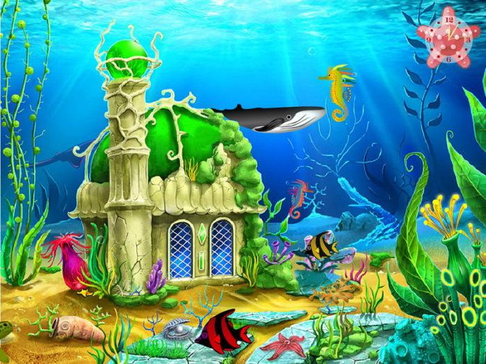 Подводный дворец Золотой рыбки